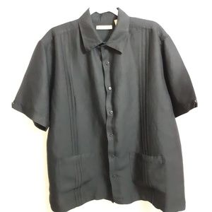 e0d39f38 Havanera Short Sleeve Button Up Shirt